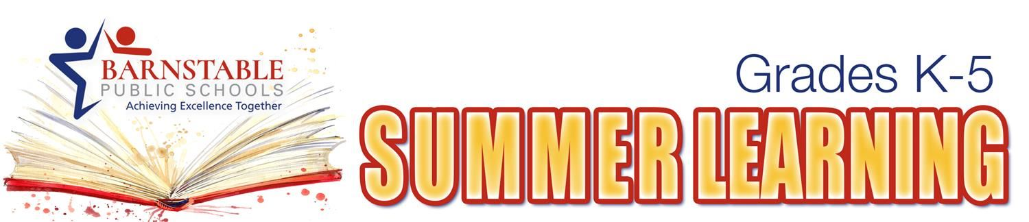 Grades K-5 Summer Learning