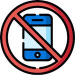 No cellphone use