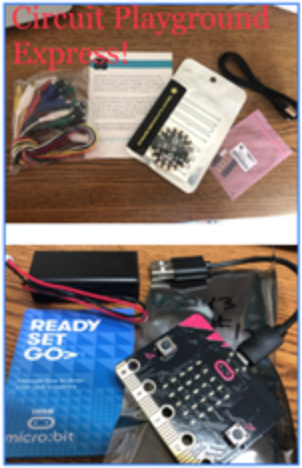 Circuit Playground and Micro:bit hardware