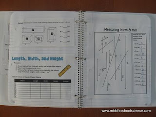 Science BIS SCIENCE - Interactive notebooks high school