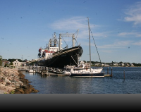 Mass Maritime Ship on the Cape Cod Canal