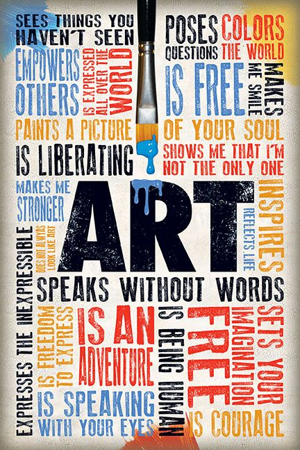 Word Spash about Art