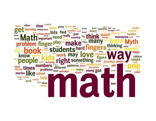 Math Word Splash