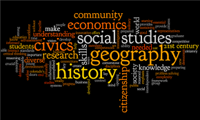Word Splash of Social Studies Terms