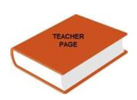 book titled teacher page