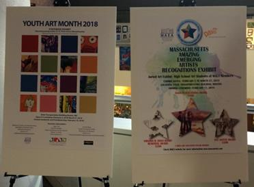 Youth Art Month posters