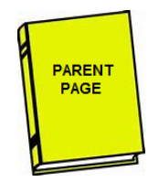 book titled parent page