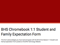 Required Chromebook Form