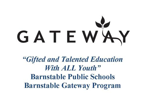 GATEWAY Logo Gifted and Talented Education With ALL Youth